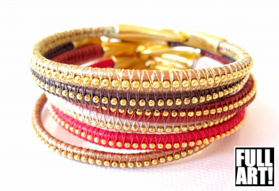 bracelets natural chic