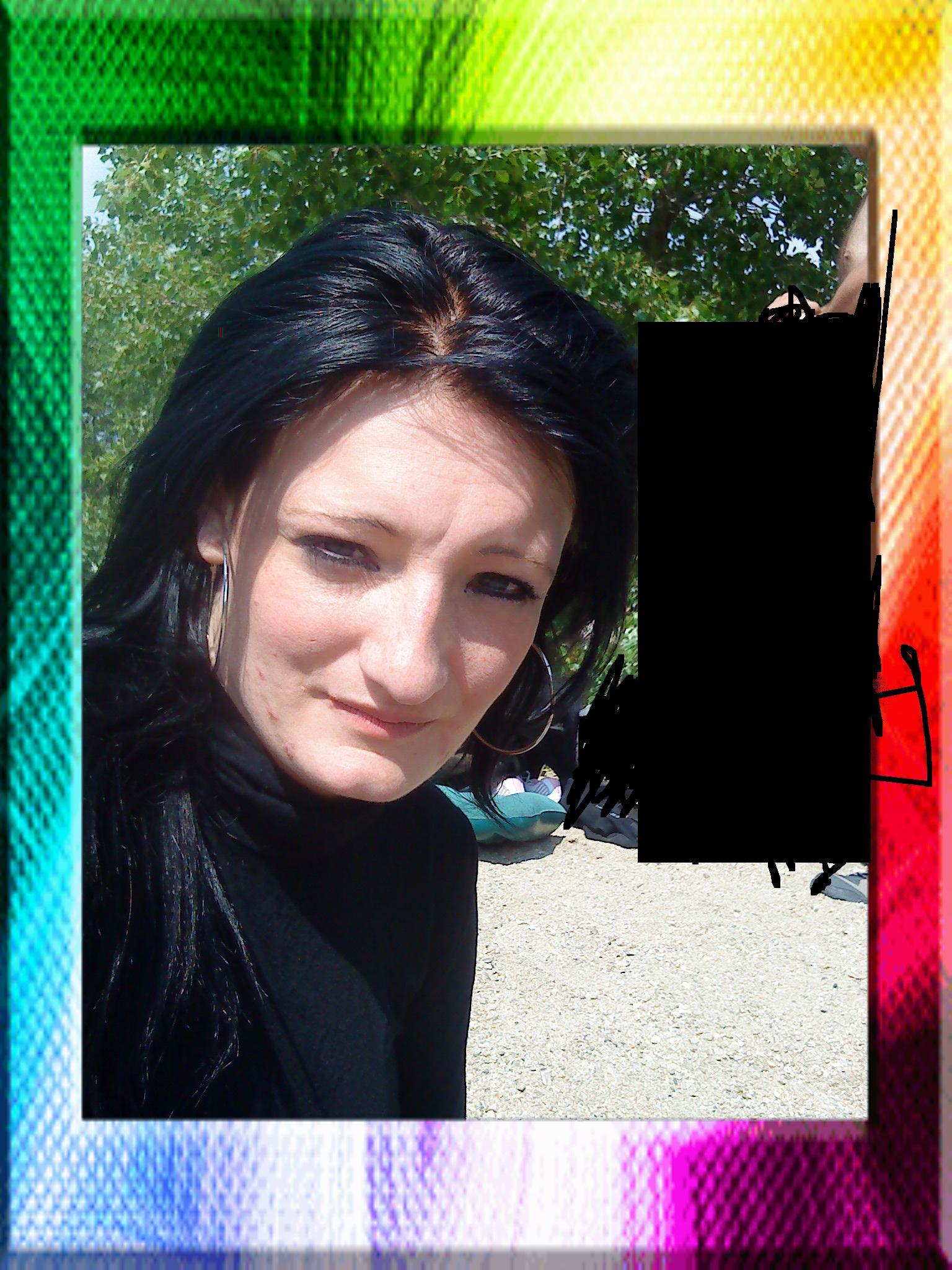 limage en grand - Color Out Cheveux Noir