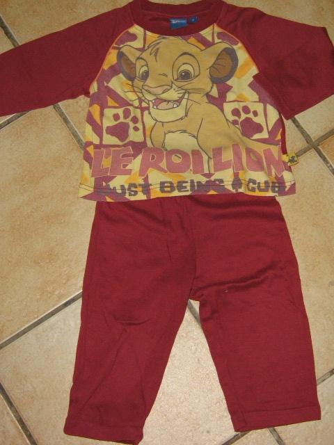 roi lion 2 l. PYJAMA LE ROI LION 2€