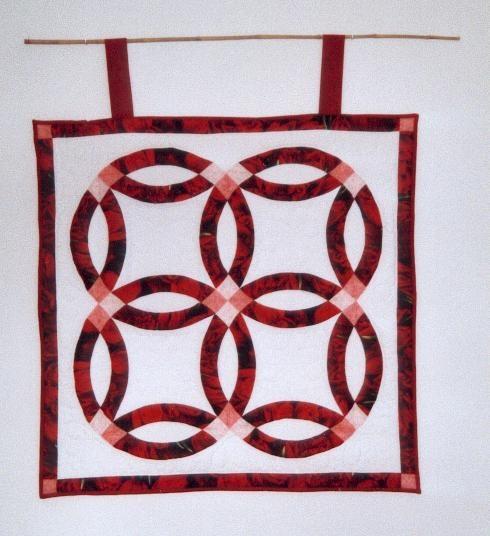 les anneaux de mariage - Ma passion, le patchwork - moumoune69 ...