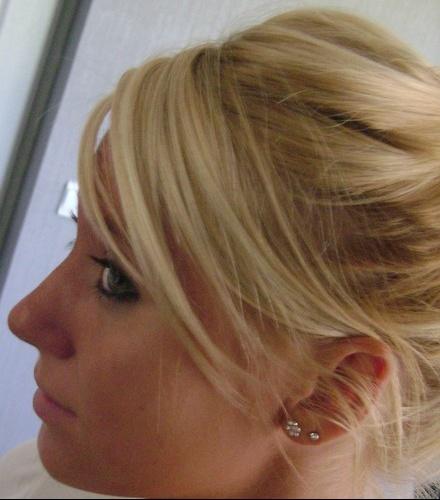 laurene couleur - Coloration Blonde Maison