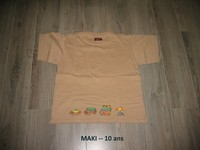 T-shirt -- MAKI -'-'- 10 ans