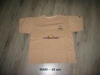 T-shirt -- MAKI --- 10 ans -- 2€