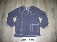 Okaidi bleu -- 10 ans - 8€