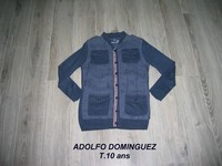 Gilet ADOLFO DOMINGUEZ T.10ans -- 10€