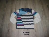 Pull CATIMINI T.10ans -- 20€