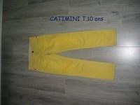 Jean CATIMINI SLIM T.10 ans porté 1/2 fois -- 20€