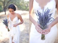 fleurs bouquet lavande