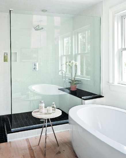 salle de bain douche et banc d co sdb layla30 photos club doctissimo. Black Bedroom Furniture Sets. Home Design Ideas