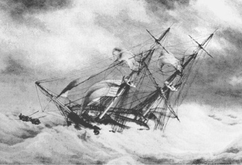 scène-du-naufrage-du-brick-archibald-en-1841-évoque-le-naufrage-du-brick-léontine-marie-le-30-janvie