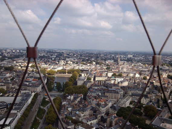 Vue de la tour de Bretagne