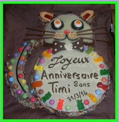 channiversaire Timi 2 ans