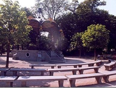 KIOSQUE du jardin public de béthune
