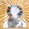 Livre de coloriage anti-stress