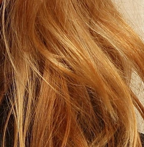 Coloration cheveux blond clair cuivre