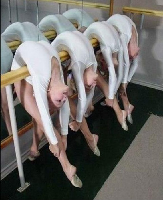 Danseuses souples