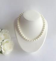 collier mariée perles d'eau douce ras de cou