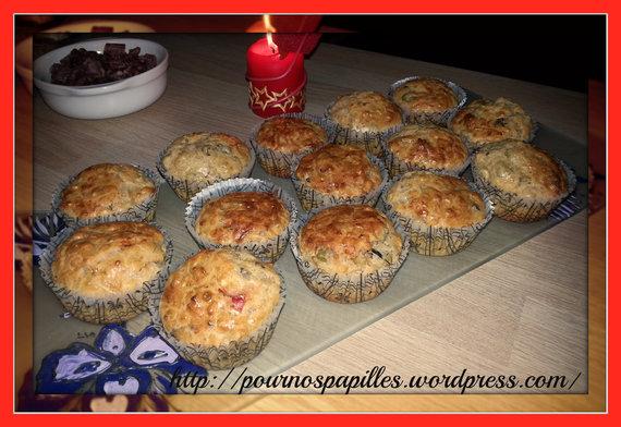 cakes aux olives et à l'Armagnac