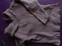 haut col roulé violet