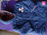 manteau marine fille