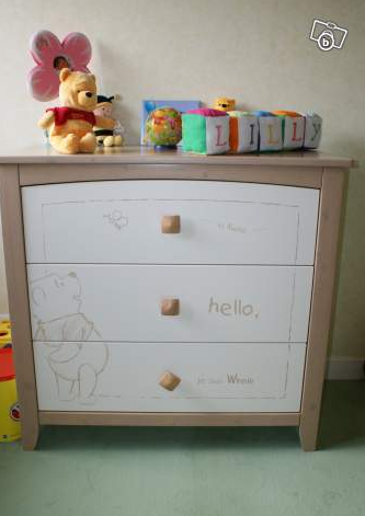 commode - Chambre Winnie L Ourson