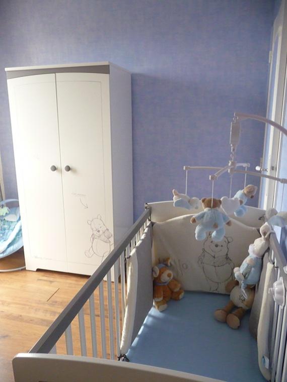Chambre Petite Fille Lilas : Chambre WINNIE aux couleurs douces > Besoin didées pour la déco