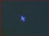 Avion sur le lac salé