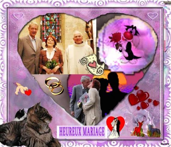 Mariage de ma mère et de Jean-Marie : elle est enfin heureuse et épanouie.