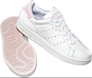 stan smith femme blanc rose