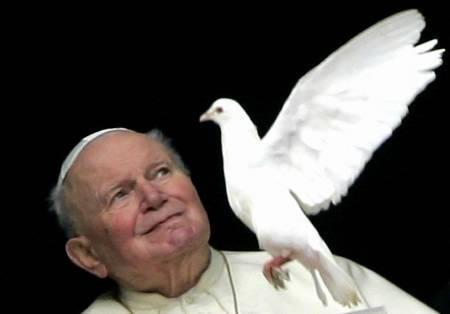 pape_colombe Karol Wojtyla 18 mai 1920 2 avril 2005