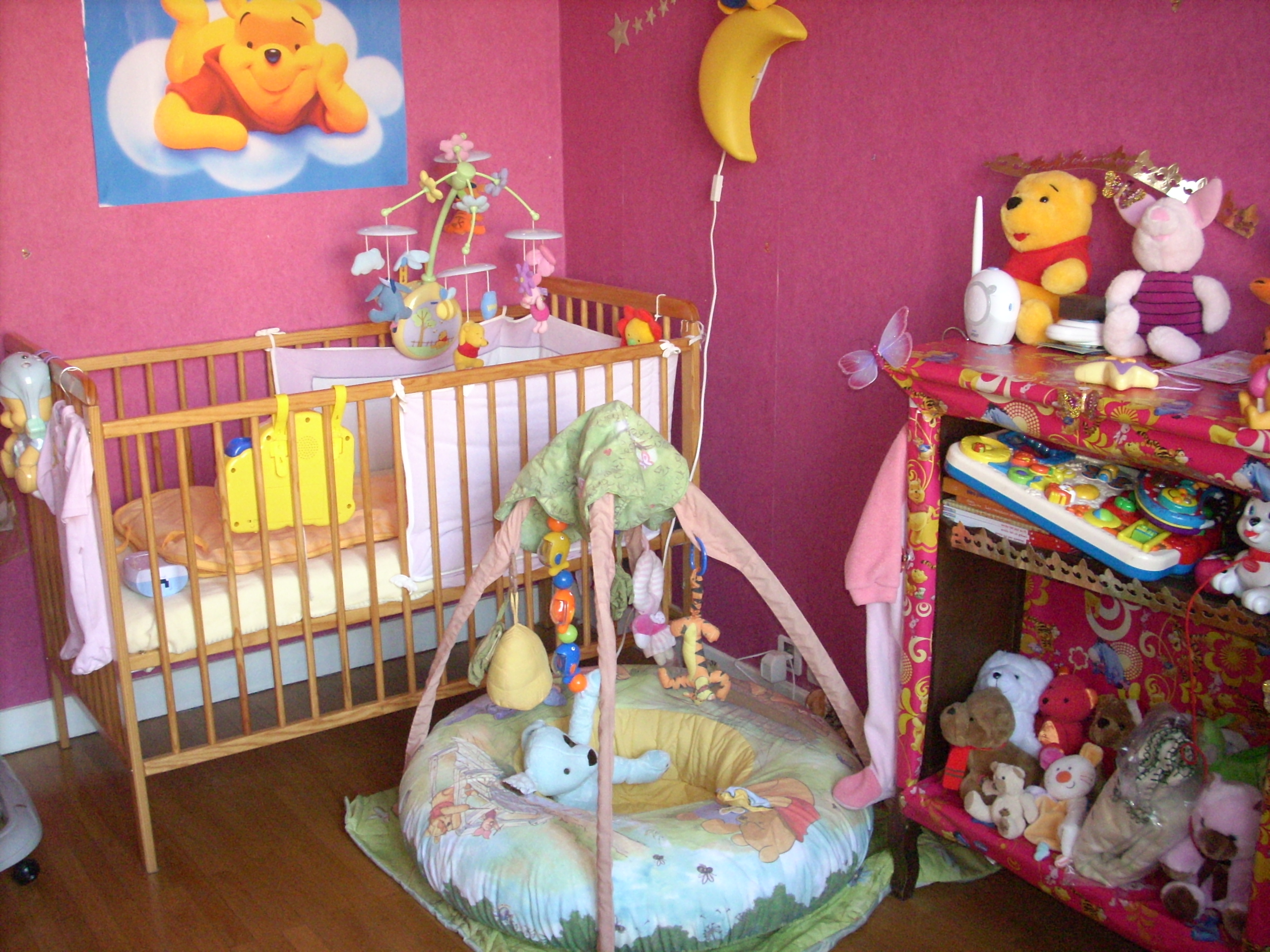 Chambre Winnie L Ourson Pour Bb. Best Chambre Winnie Bebe With ...