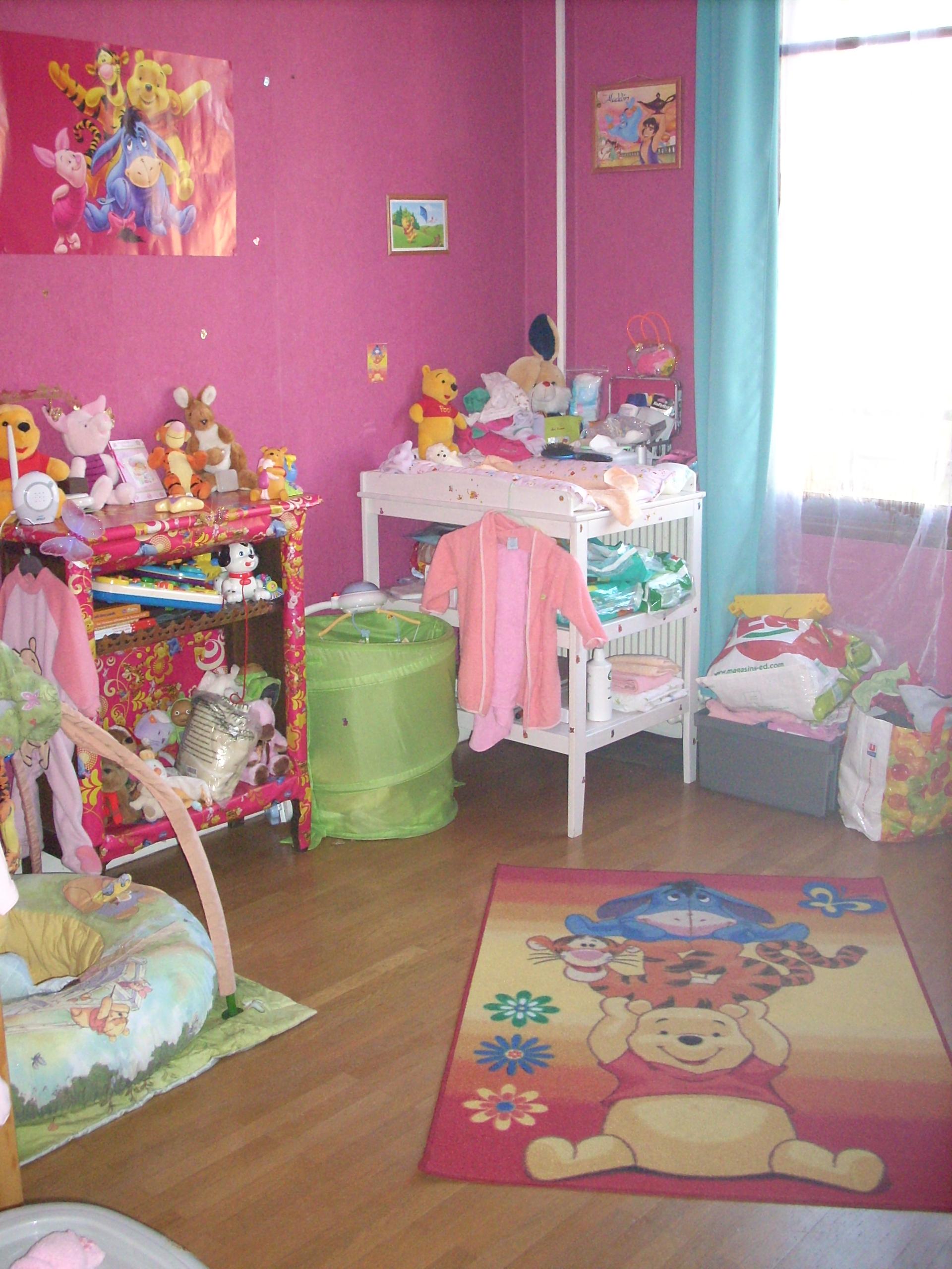 Chambre winnie l\'oursson bébé - Chambre de bébé - FORUM Grossesse & bébé