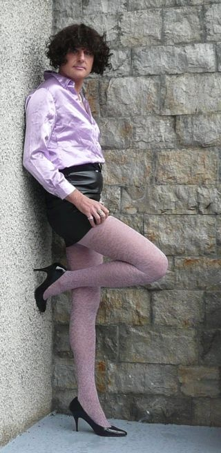 chemisier violet