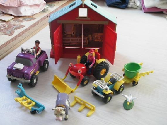 Jouets tracteur tom - Le tracteur tom ...