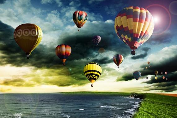 Montgolfieres par Utopie