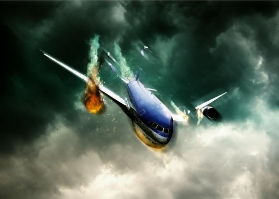 Avion crash par Utopie