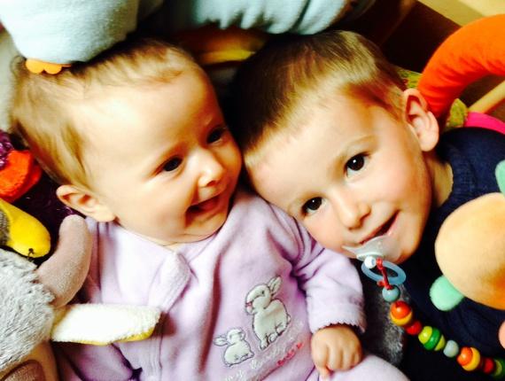 Mes 2 amours Lucas et Léna