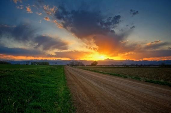 Coucher-de-soleil-prairie