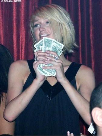 parishilton-dollarbills