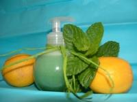 gel douche menthe & citron