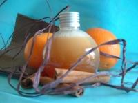 gel douche orange cannelle
