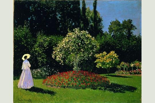 Femme au jardin 1866 - CLAUDE MONET - jeanlouys - Photos - Club Doctissimo