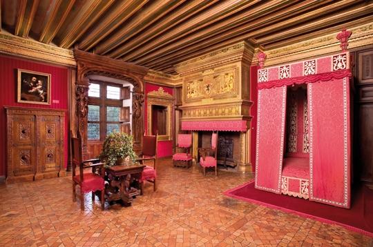 Chateau de chenonceau chambre de c sar de vend me for Chateau chenonceau interieur
