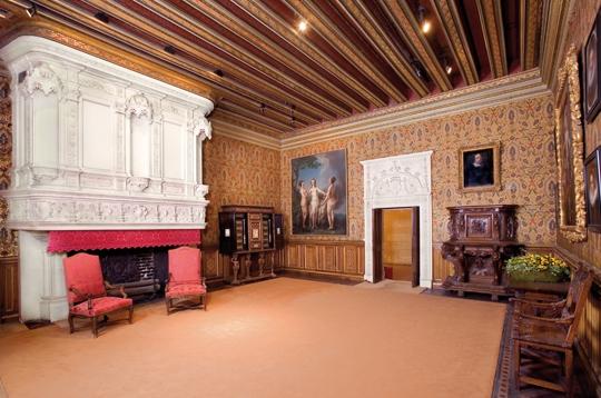 Ch teau de chenonceau la chambre de fran ois 1er for Chateau chenonceau interieur
