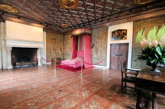 Ch teau de chenonceau la chambre des 5 reines ch teaux for Chateau chenonceau interieur