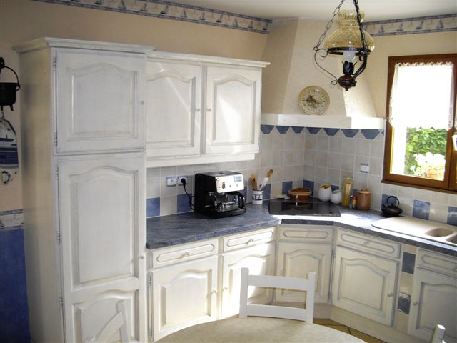 Cuisine Ceruse Blanc Deco Pour Cuisine Blanc Cuisine Bois Ceruse - Salle a manger ceruse pour idees de deco de cuisine