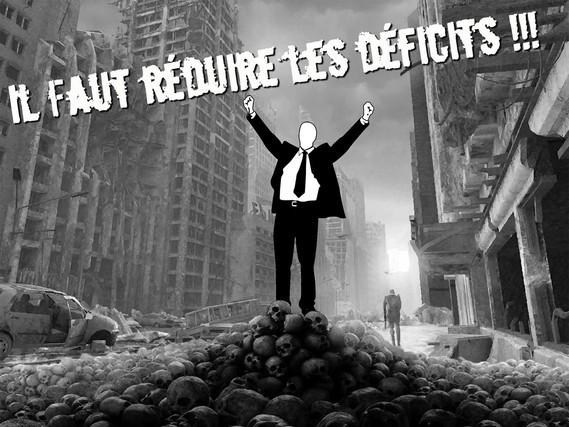 il faut réduire les déficits