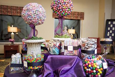 bar a bonbons violet original bapteme princesses19012508 photos club doctissimo. Black Bedroom Furniture Sets. Home Design Ideas