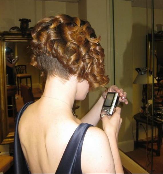 Coupe Carre Plongeant Cheveux Boucles