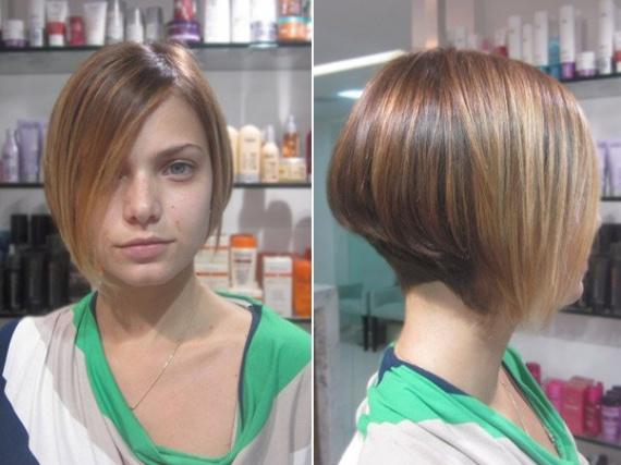 Coupe cheveux plus long devant